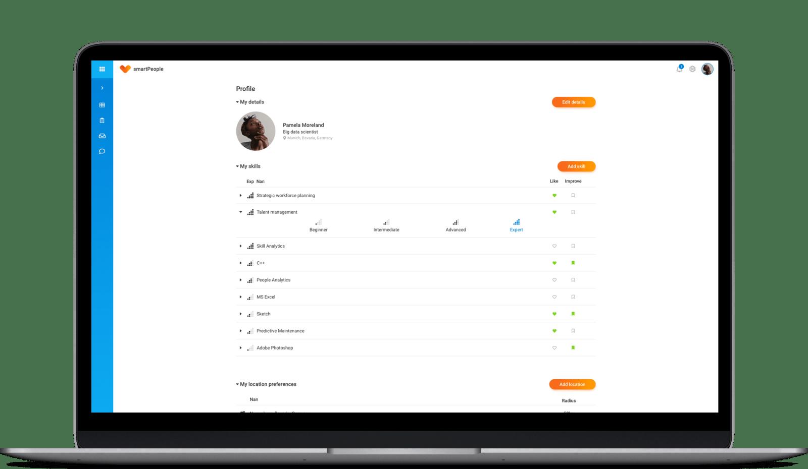 smartPeople profile