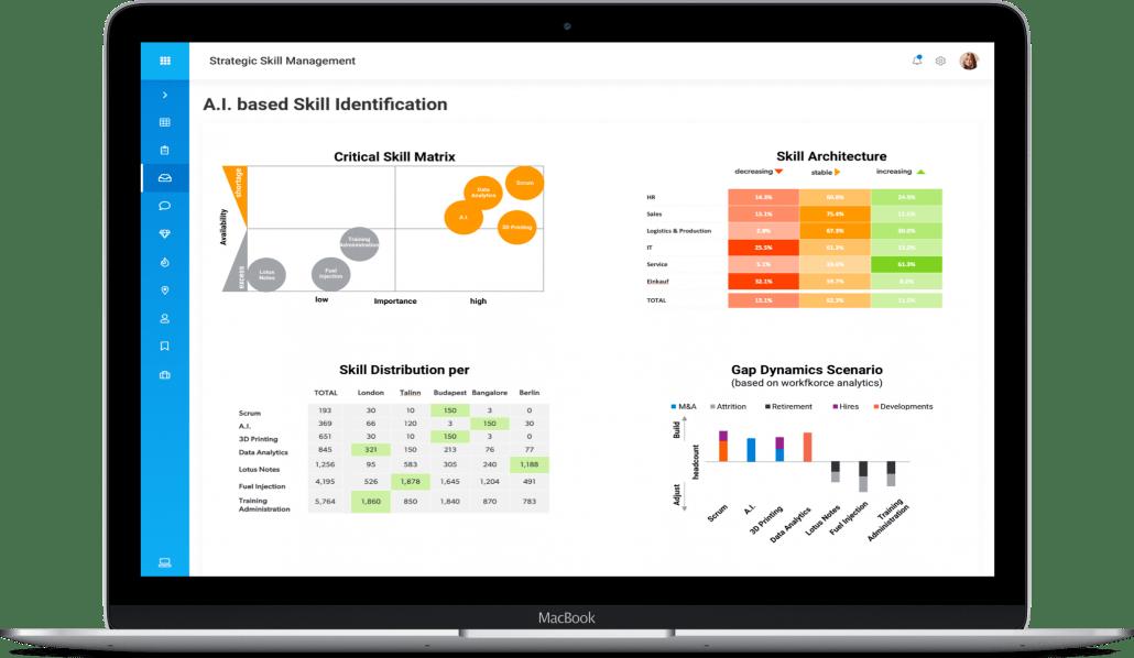 Continental: Big Data for better strategic skill management