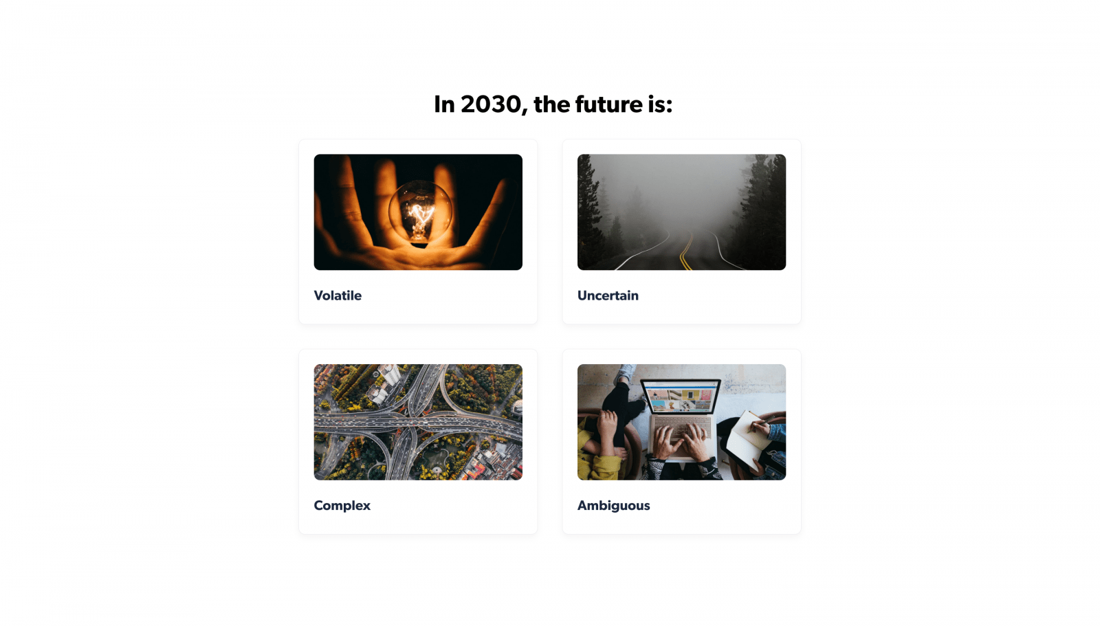 The future of workforce 2030